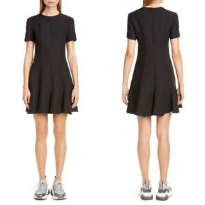 Dorothy Perkins Pleated Fit and Flare Black Dress